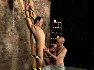 Gay sm boy emo bondage and young tubes Spitting Cum In A